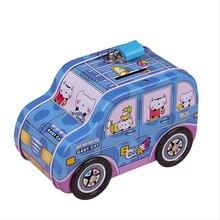 Car Cartoon Piggy Bank Coins,children Piggy Bank Boy Creative Cute Little Cajero Automatico De Dinero Coin Saving Bank NN50PB