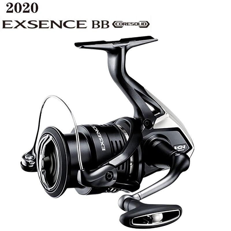 Nueva rueda giratoria de pesca de agua salada BB de SHIMANO EXSENCE 2020 Original, C3000MHG 3000MHG 4000MHG 4000MXG 5 + 1BB