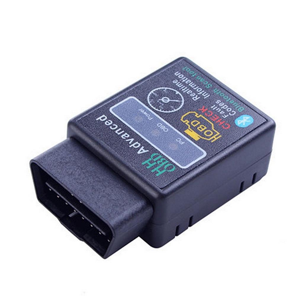 HH OBD ELM327 Bluetooth V2.1 interfaz trabaja en Android par Elm 327 Bluetooth OBD2/OBD II escáner de diagnóstico de coche