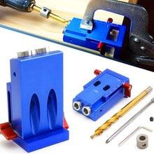Mini système de Kit de gabarit de trou de poche de Style pour le travail du bois