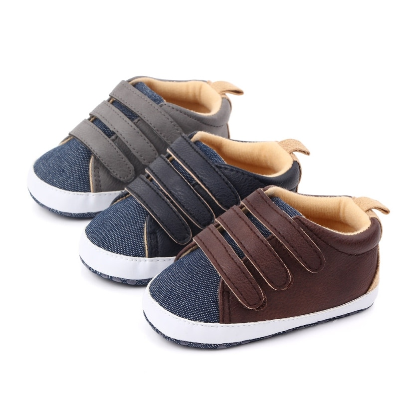 Infant toddler baby Boy Girl Shoes Soft sole 0-6 6-12 12-18M baby casual Canvas shoes first walkers