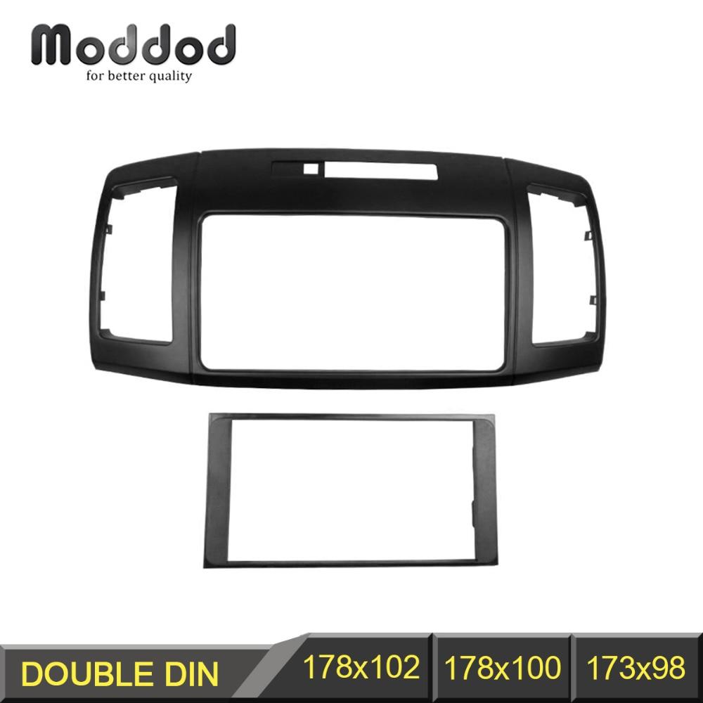 2 Din Radio Fascia for Toyota Allion 240 DVD Stereo Panel Dash Mounting Installation Trim Kit Face Frame Bezel