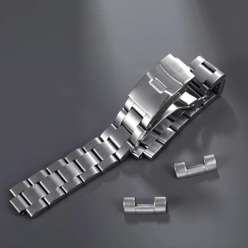 Pulseira de Relógio Apto para Seiko Inoxidável Ligação Final Sólida 6105 Relógio 316l 20mm Aço
