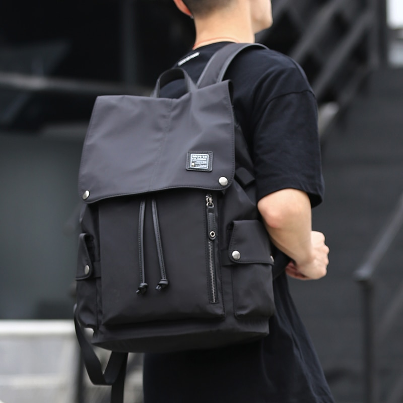 Men Backpack 15.6inch Laptop PC Portable Bags USB Charge Waterproof Oxford Daypacks Mochila Male Bag