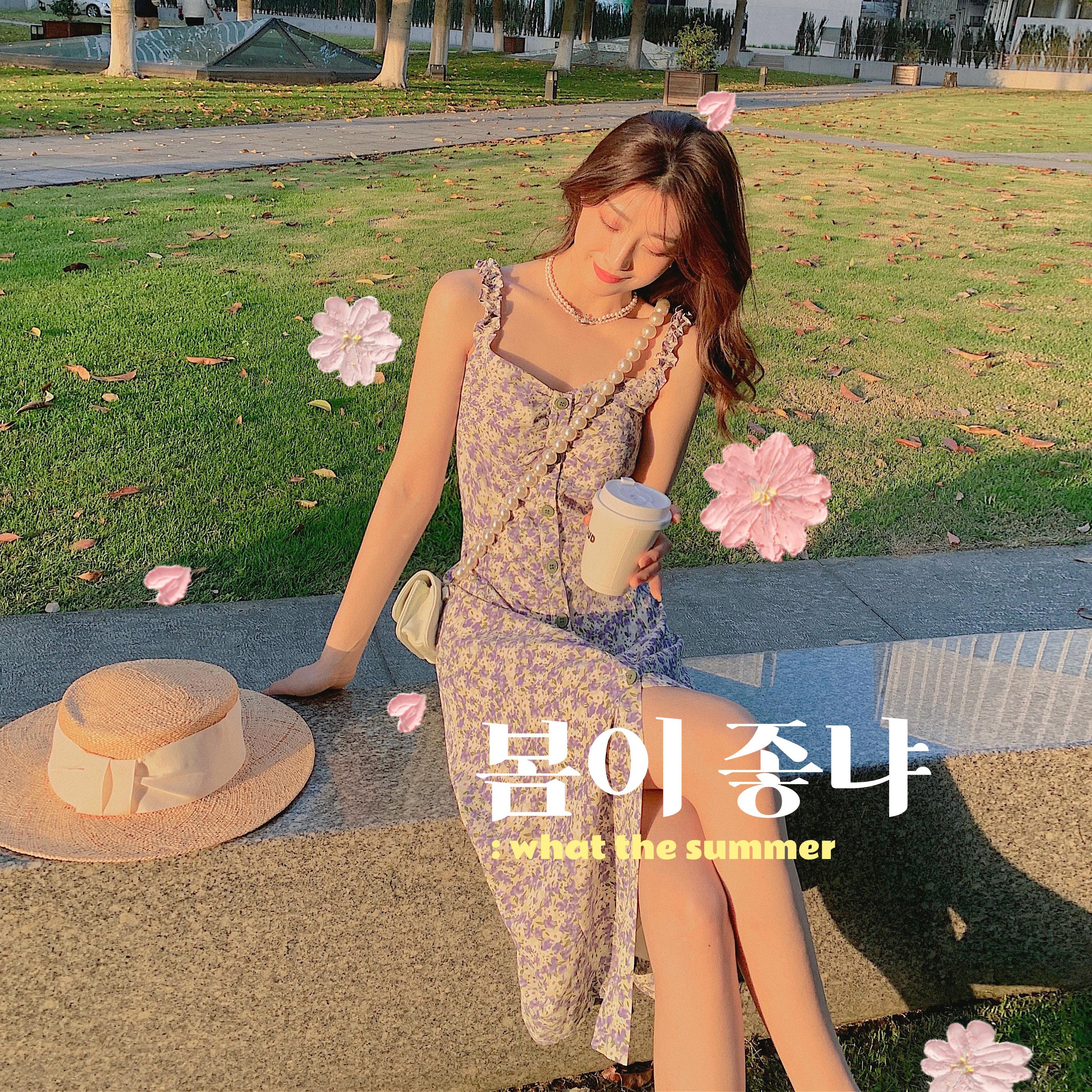 CMAZ Dresses For Women Summer 2021 Korean Style
