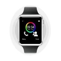 a1 smart watch 2020 2021 smartwatch bluetooth call sim card watch