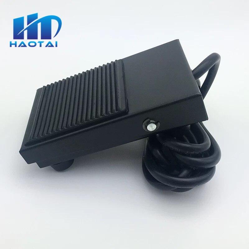 FS-1 AC 220V 10A 1NO 1NC SPDT superficie de goma antideslizante interruptor momentáneo TFS-1 interruptor de pie