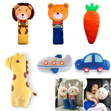 Sangle de sécurité pour enfants   Housse de harnais, oreiller épaule de siège, coussin denfant, jouets de dessin animé
