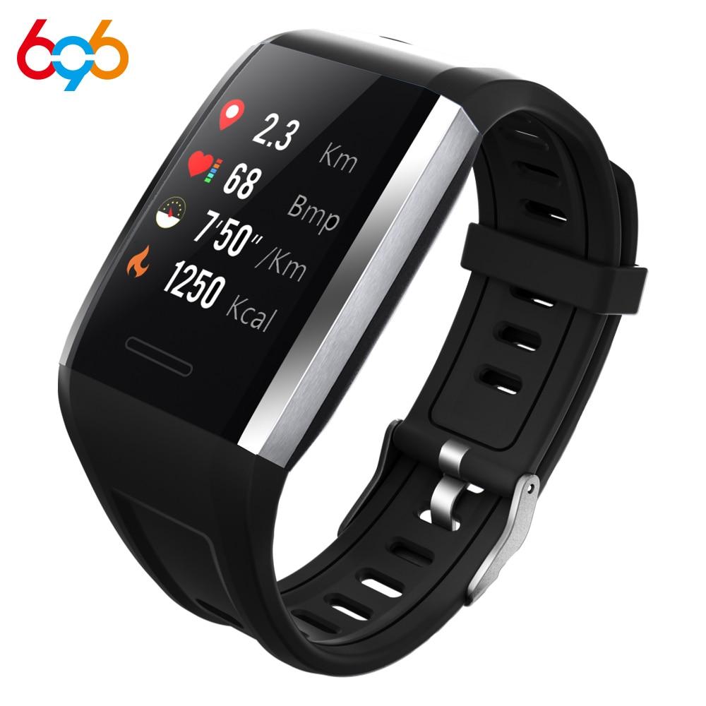 696 Q7 pulsera inteligente pulso presión arterial reloj deportivo inteligente Monitor de salud Smartwatch IP68 reloj deportivo inteligente impermeable