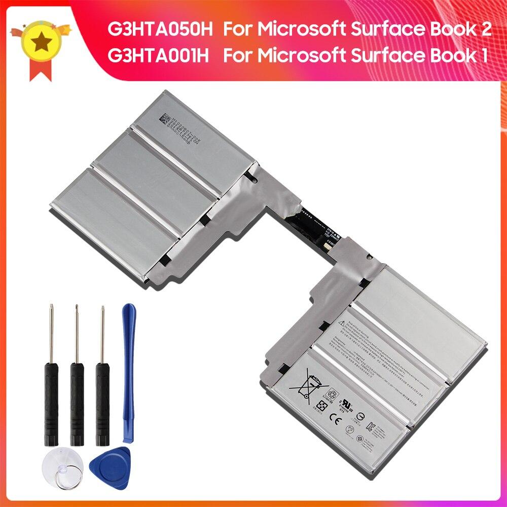 100% الأصلي بطارية G3HTA050H G3HTA001H لمايكروسوفت سطح كتاب 1st 1785 1703 Book2nd 1835 لوحة المفاتيح تبديل البطارية