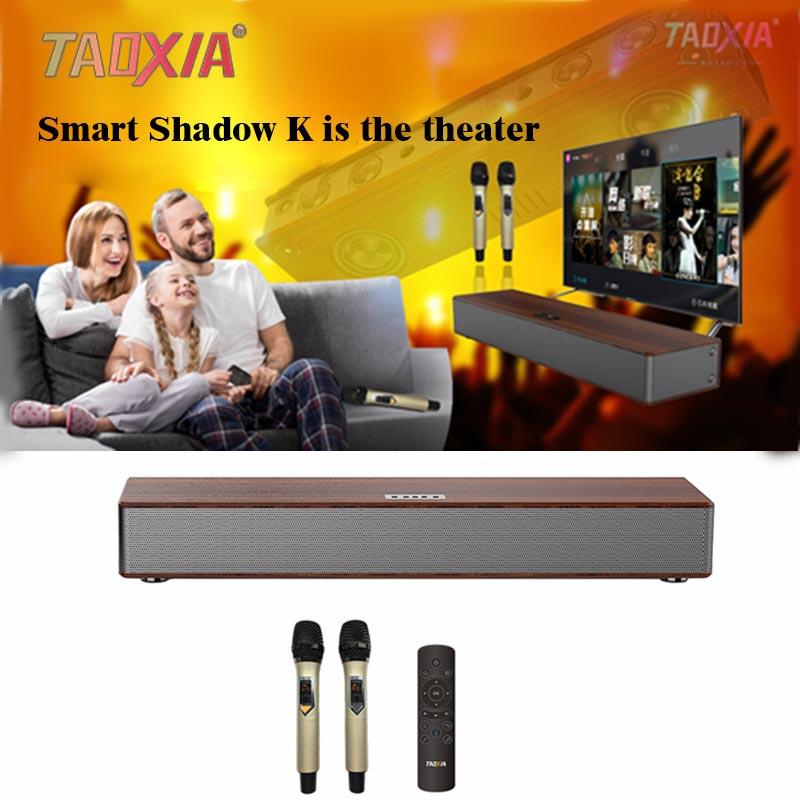 3D Surround barre de son Home cinéma karaoké haut-parleur 180W Hifi 4K décodage DTS Bluetooth HDMI Wifi DSP jeu de puces haut-parleur intelligent
