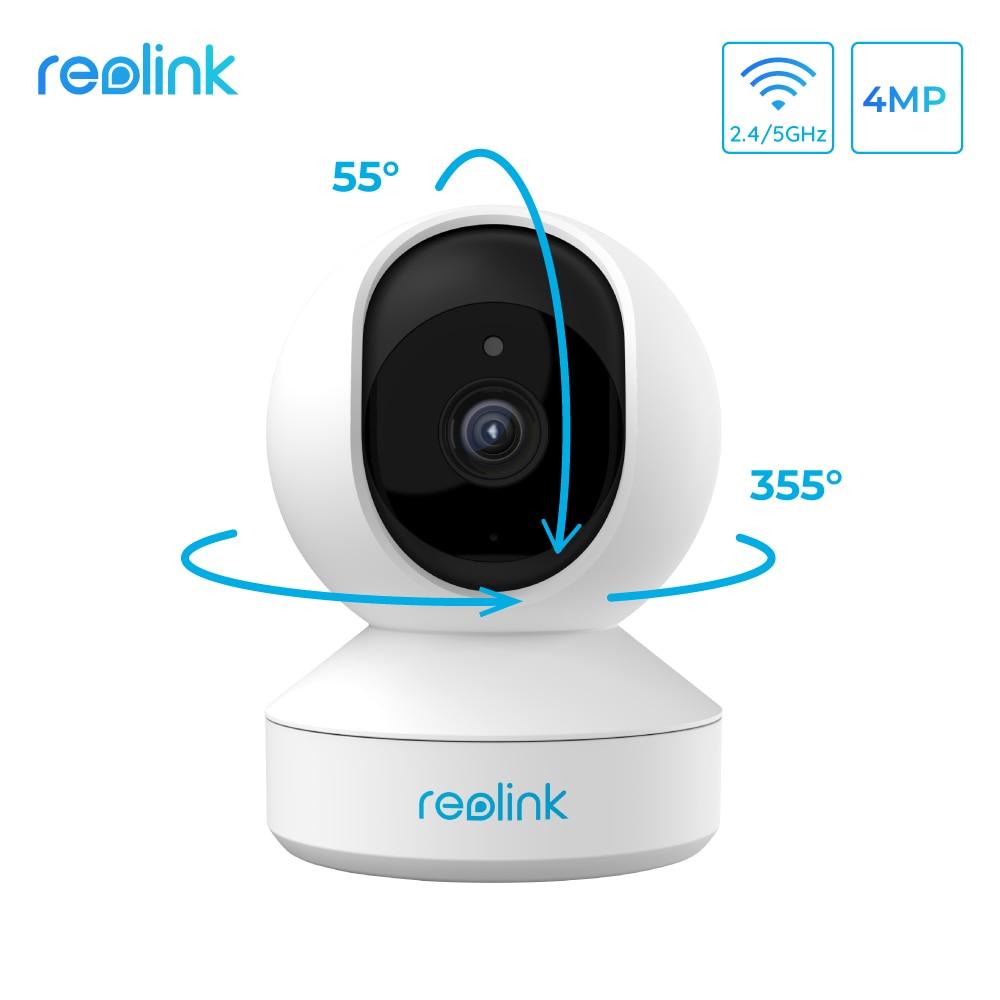 Reolink Indoor 2.4G/5Ghz WiFi Camera 4MP Super HD Pan&Tilt 2-Way Audio Motion Detection Smart Home V