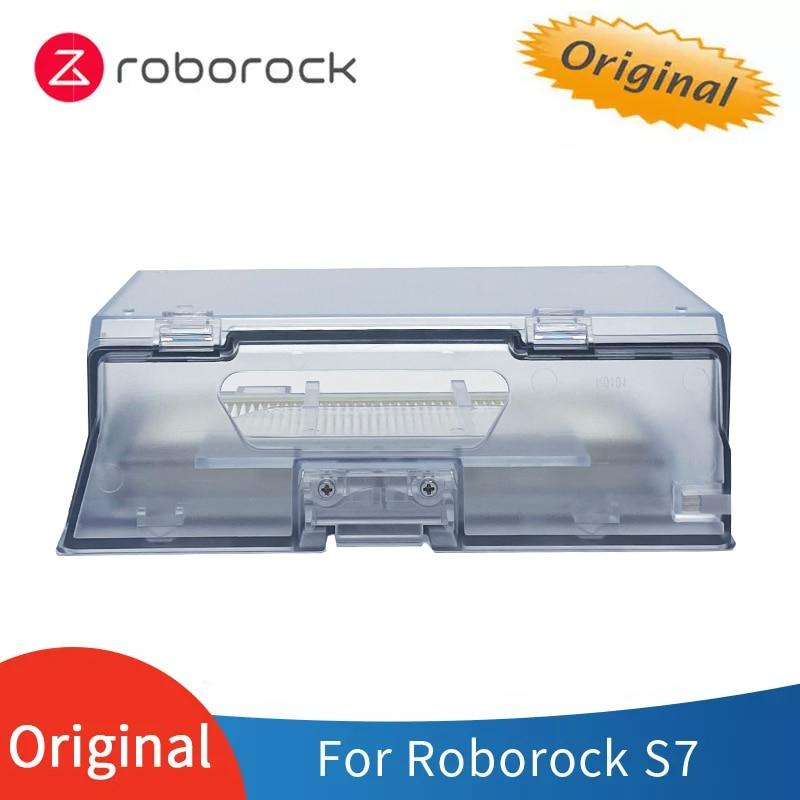 الأصلي فراغ روبوت Roborock S7 قطع الغيار ، صندوق الغبار HEPA تصفية الملحقات