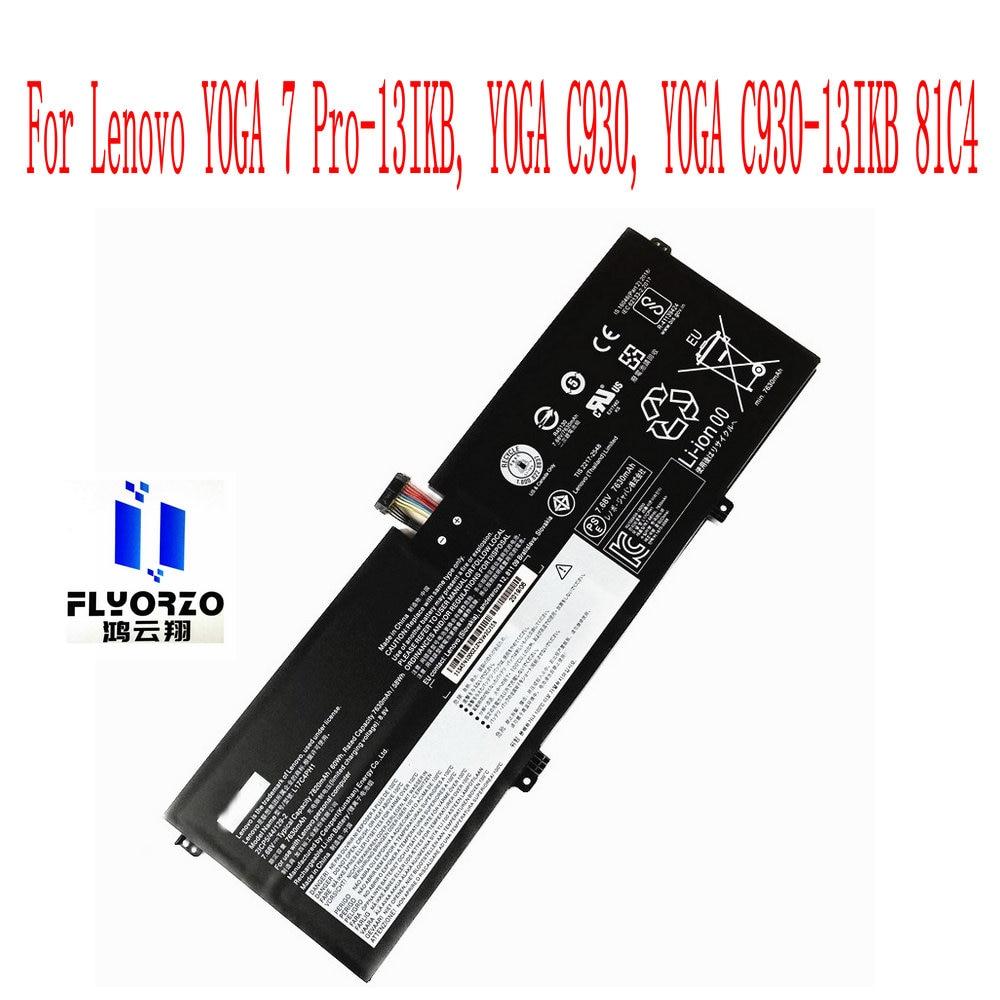 100% العلامة التجارية الجديدة 7820mAh/60WH L17C4PH1 L17M4PH2 بطارية لينوفو اليوغا 7 Pro-13IKB ، اليوغا C930 ، اليوغا C930-13IKB 81C4 كمبيوتر محمول