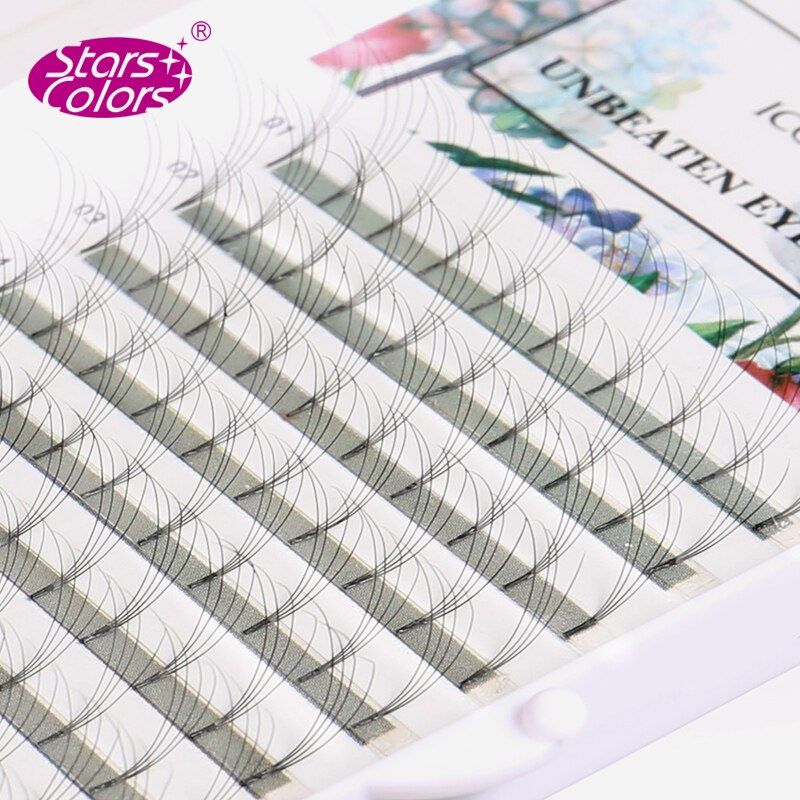 Nueva llegada 2D/4D/6D pestañas postizas 0,07mm grosor C/D pestañas de seda rizos Cilia belleza maquillaje extensión de pestañas 8-15mm