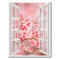 pink cherry beautiful flowers 5d diamond crystal embroidery cross stitch kit diamond painting full square round drill decortion