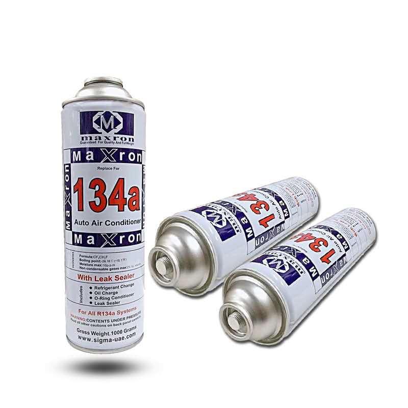 R134 чистота 99.99% Вес 800 г для обслуживания автомобильного кондиционера специальный хладагент экологически чистый хладагент