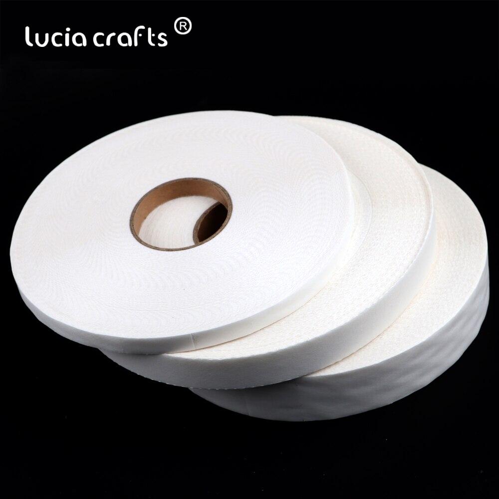 10/20/30mm ferro na tela de forros de fita diy costura roupas malha entrelaçamento têxtil tecido acessórios de vestuário para o vestuário y0112