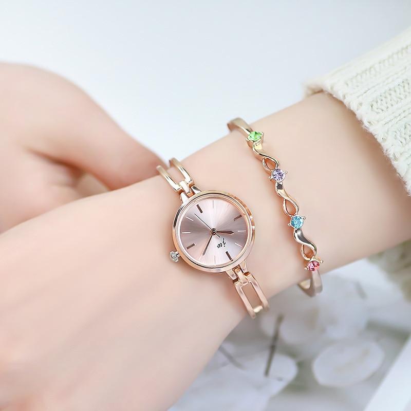 Top Brand Luxury Women's Watches Simple Fashion Ladies Jewelry Watch Minimalist Bracelet Watch Casua