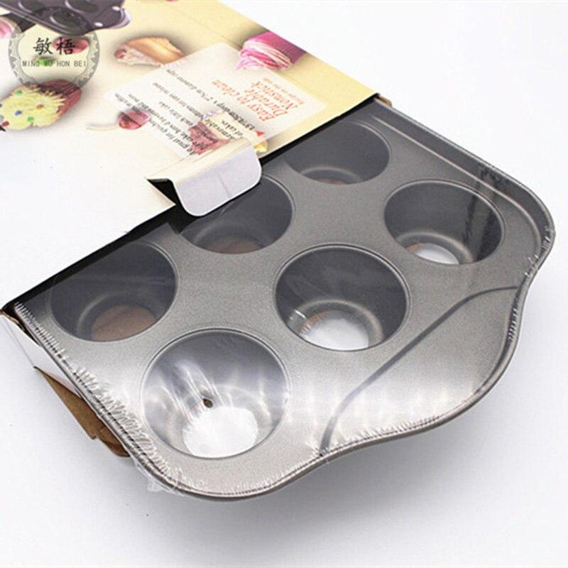 Recién 12 Mini bandeja de pastel, taza de tarta de queso, recipiente de lata antiadherente para hornear magdalenas TE889