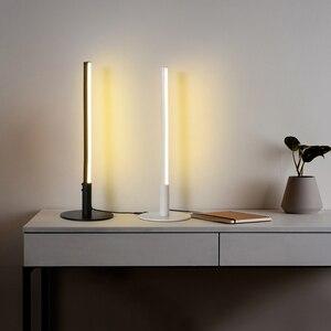 Modern LED Desk lamp Long Hanging Lights Simple Nordic Living Room Sofa Background Table lamp Bedroom Bedside Floor Lamp
