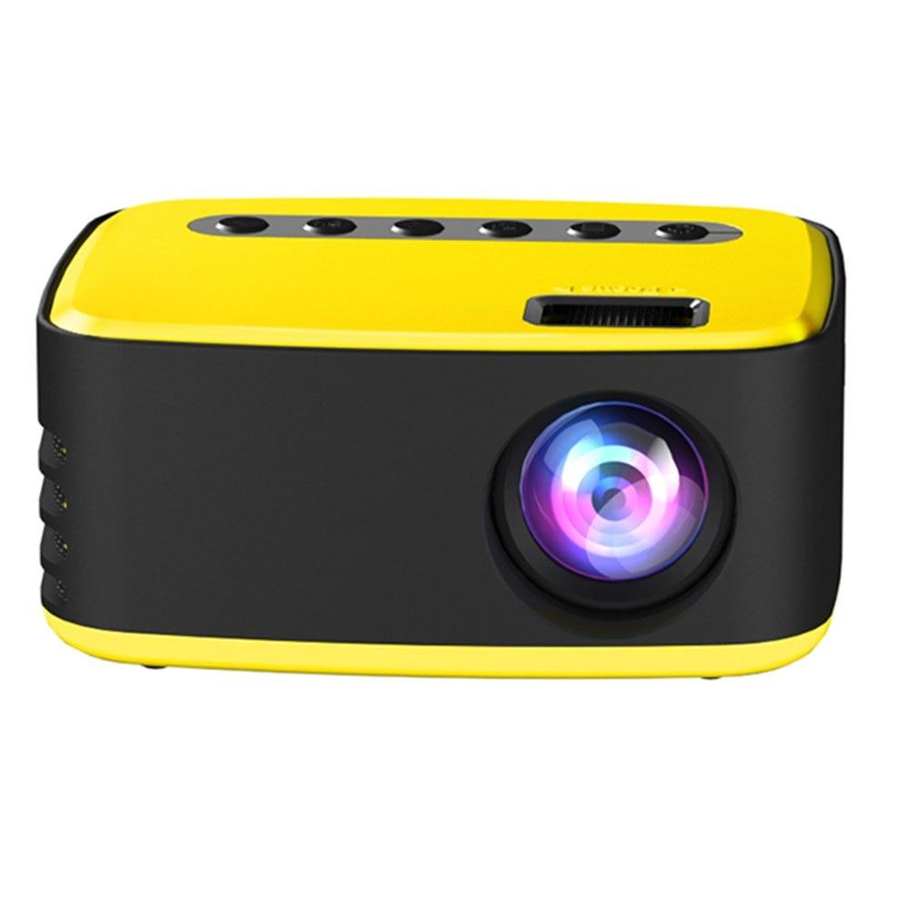 T20 Mini المحمولة 1080P USB HD LED الرئيسية ميديا مشغل فيديو سينما العارض 320x240 بكسل يدعم يسهل حملها