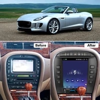 tesla screen android radio receiver for jaguar s type stype 2004 2005 206 2007 2008 2009 car audio stereo video player head unit