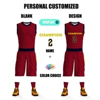 customizable basketball uniform for men tracksuits full sublimation prints team name logo fitness training quickly dry sportwear
