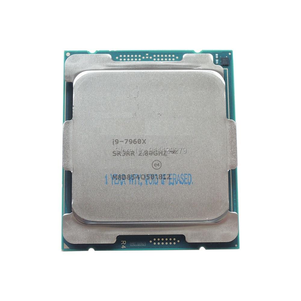 i9-7960X SR3RR X-series Processor 16 Cores 32 Threads 2.8 GHz FCLGA2066