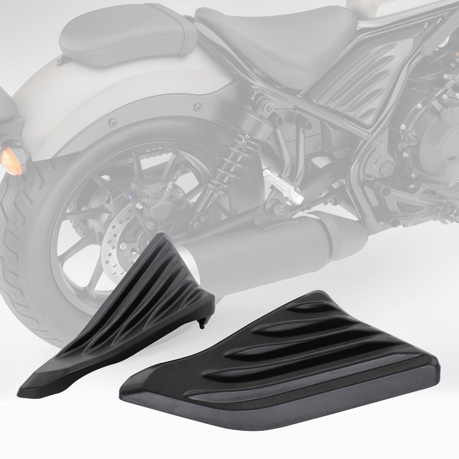 مجموعة من 2 الدراجات النارية الجانب محرك الحرس Fairings منتصف غطاء إطاري صب الملحقات لهوندا CMX 300 500 CMX300 CMX500 17-21