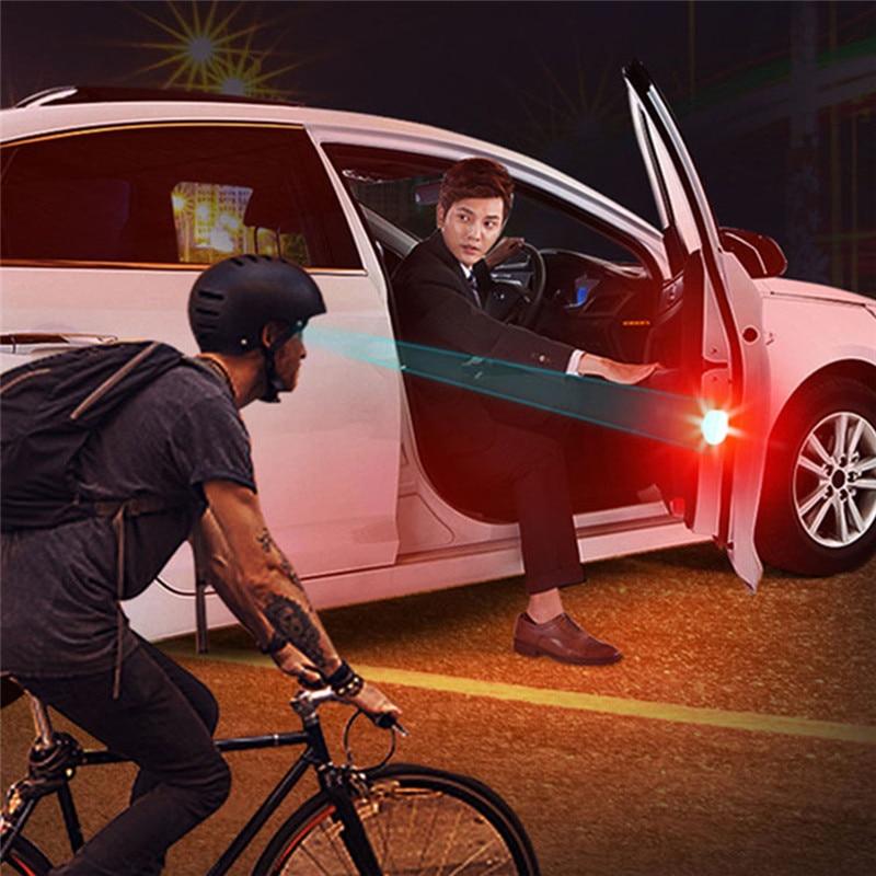 2PCS Led Car Door Anti-Collision Warning Lamp Automobile General Decorative Lamp Open Door Anti-collid  Car Door Light