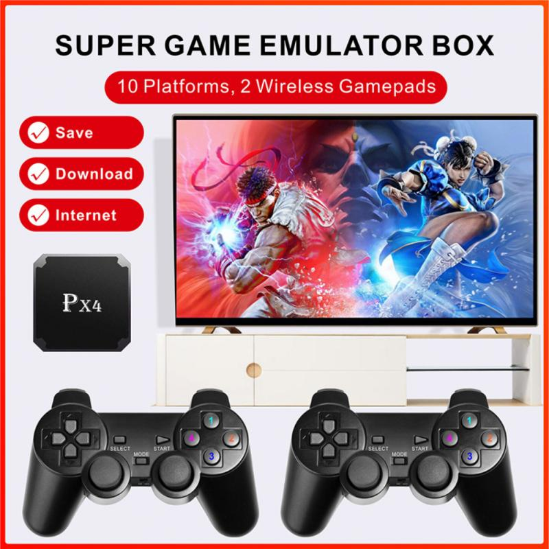 px4-4k-hd-video-game-console-2-4g-wifi-double-wireless-controller-built-in-5000-games-retro-game-console-games-box-accessories
