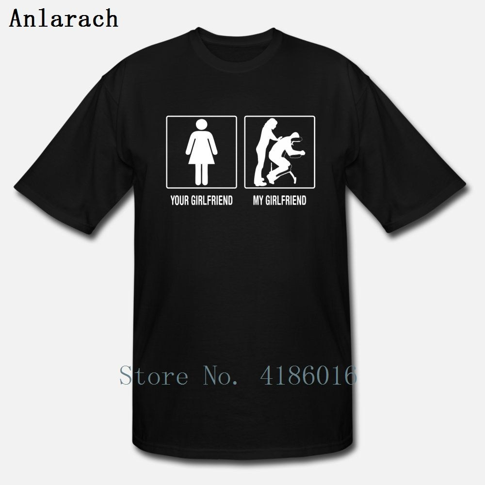 Your Girlfriend My Girlfriend Massage Therapist T Shirt Short Sleeve Unique New Style Summer Size S-5xl Novelty Printed Shirt