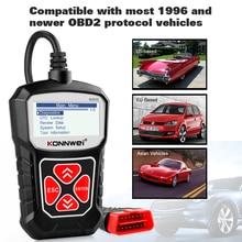 Новый OBD2 сканер KONNWEI KW310 для автомобиля OBD2, Автомобильный сканер, диагностический инструмент, Автомобильный сканер, автомобильные инструменты, русский язык PK Elm327