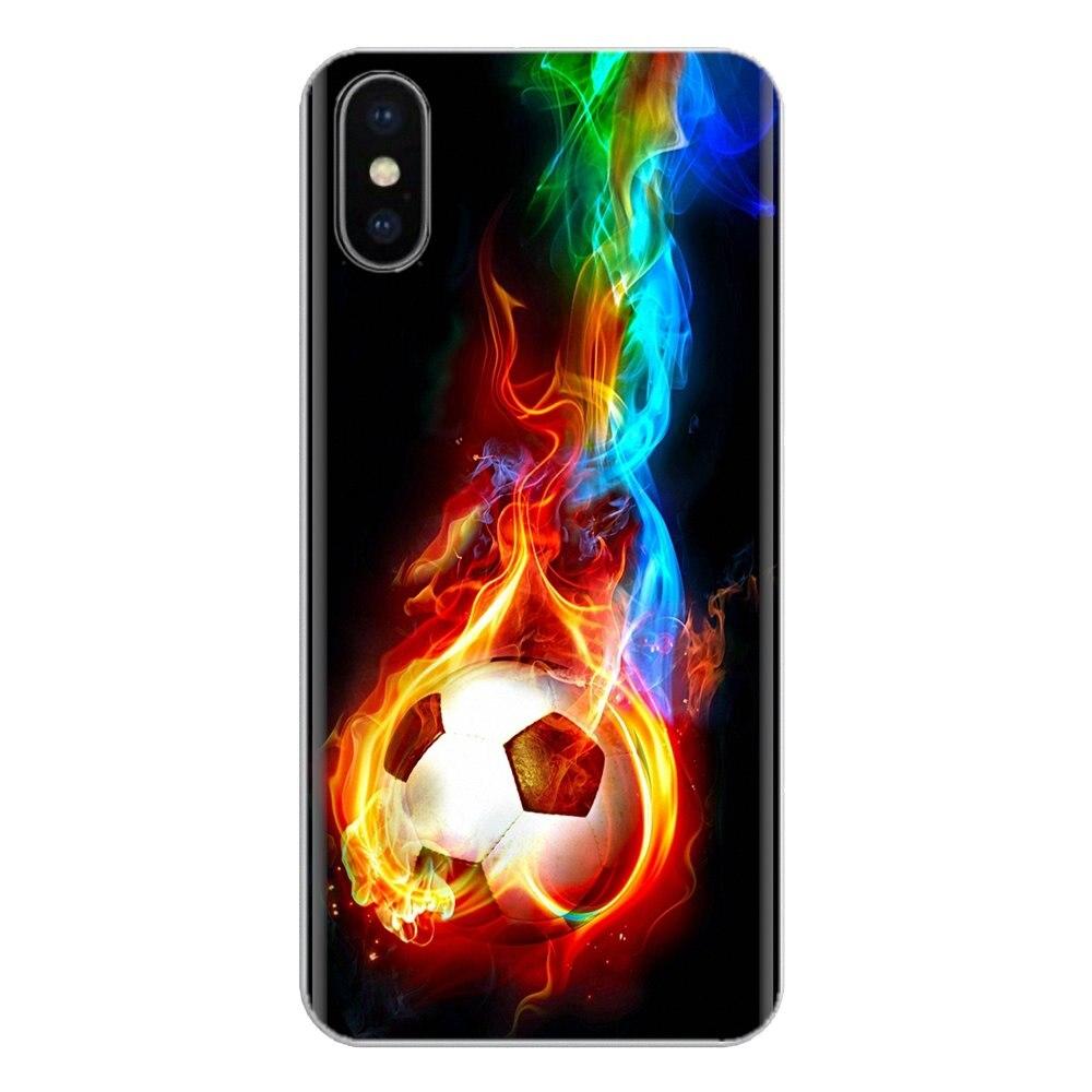 Para LG G3 G4 Mini G5 G6 G7 Q6 Q7 Q8 Q9 V10 V20 V30 X Power 2 3 K10 K4 K8 2017 Deportes Fútbol carcasa de silicona para teléfono móvil cubierta