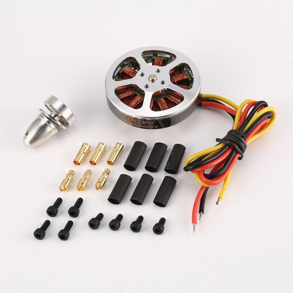2019 110g 5010360V /750KV couple élevé en aluminium moteurs sans brosse pour ZD550 ZD850 RC Multicopter quadrirotor