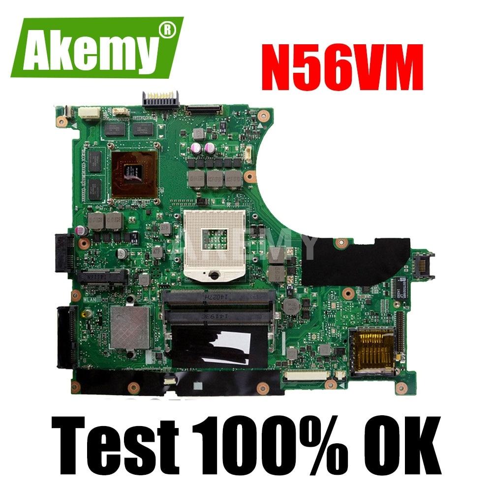 N56VM Motherboard Für Asus N56V N56VM N56VV N56VJ N56VB N56VZ Laptop Motherboard N56VM Mainboard N56VM Motherboard