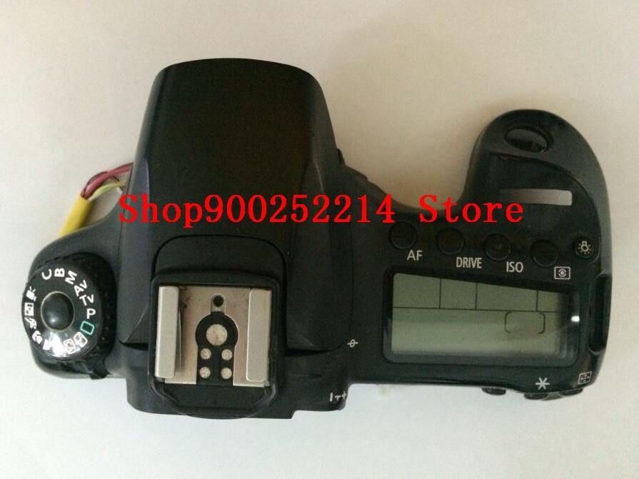 الأصلي جديد غطاء فوقي رئيس فلاش غطاء وحدة إصلاح جزء لكانون ل EOS 60D SLR كاميرا جزء