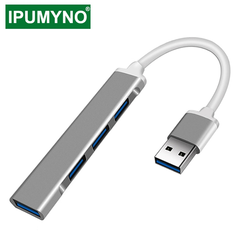 USB C HUB 3.0 Type C 3.1 4 Port Multi Splitter Adapter OTG For Lenovo Xiaomi Macbook Pro 13 15 Air Pro PC Computer Accessories