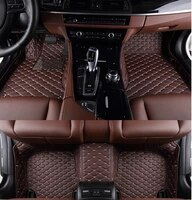 no odor full surrounded special car floor mats wear resisting non slip carpets waterproof rugs for cadillac cts