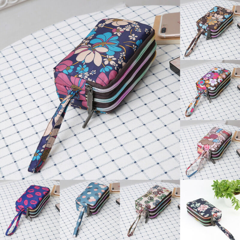 2019 Newest Fashion Women Mini Mobile Phone Cases Card Holder Coin Purse Small Leather Clutch Bag