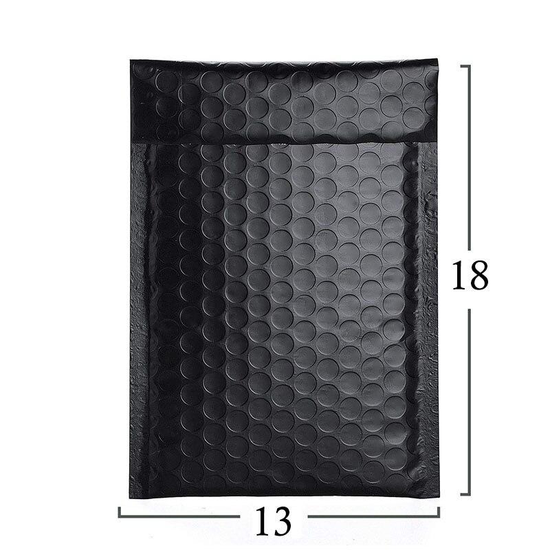 Упаковка мягкая 50 шт., черная стандартная сумка для женской офисной сумки, для самостоятельной упаковки, Подарочный магазин