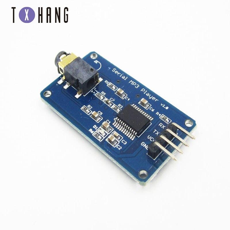 YX6300 Módulo de Control UART Módulo de reproductor de música MP3 para Arduino/AVR/ARM/PIC CF