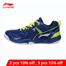 Li-ning hommes chaussures de Badminton doublure portable Li Ning respirant chaussures de Sport coussin confort baskets AYTM069 XYY065