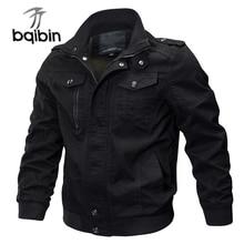Military Bomber Jacket Men Casual Cotton Mens Jackets & Coats Army Men's Slim Fit Pilot Jackets Casa