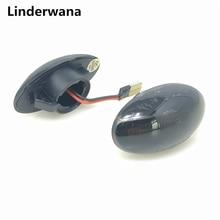 For Mini R50 2002-2006 R52 2004-2008 R53 2002-2006 Car LED Turn Signal Side Marker Light Indicator Warning Lights 2pcs