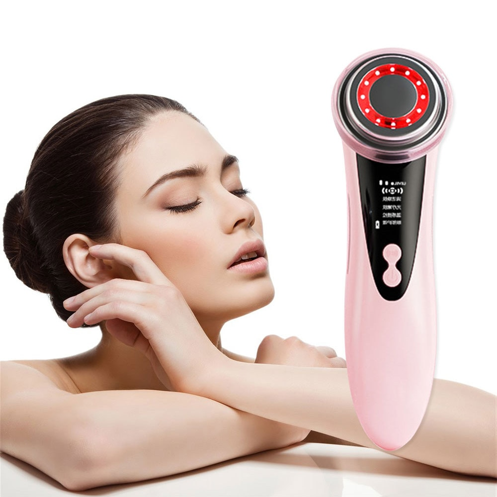 Multi Functional Beauty Devices RF EMS for Face Eye care tools instrument beauty machine Skin care device Women Massage Tool