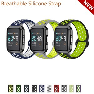 20mm 22mm Silicone Band Strap for Haylou LS02 Replacement Watchband
