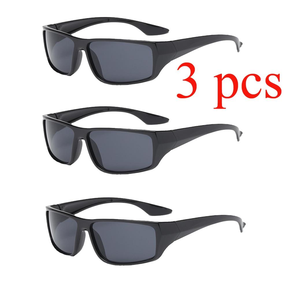 3pcs/Lot Moto Sunglasses for Car Motorcycle Bicycle Mountain Bike Drivers Goggles Anti Glare Man Woman Yellow Gray Orange grisham j gray mountain