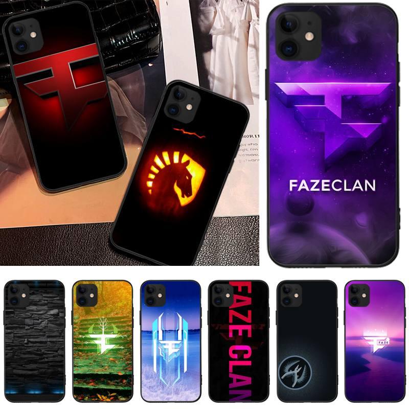 Tao Taoju juego clan FAZE de Teléfono de lujo para iphone6 6s plus 7 8 7 8 plus X XR XS MAX 11 Pro Max cubierta